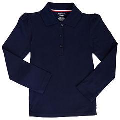 French Toast Short Sleeve Polo Shirt - Big Kid Girls