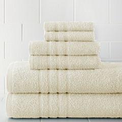 Pacific Coast Textiles™ Spa Collection 6-pc. Bath Towel Set