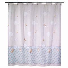 Avanti Avanti Seaglass  Shower Curtain Shower Curtain