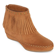 Arizona Tarlo Fringe Booties