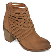 Arizona Orlando Woven Ankle Booties