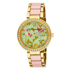Laura Ashley Ladies Pink Summer Duck Egg Dial Watch La31007Pk