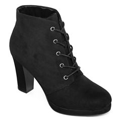 a.n.a® Frosty Lace-Up Ankle Booties