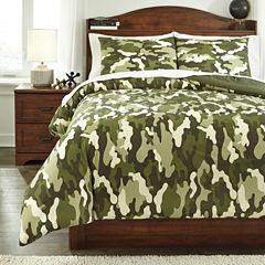 Signature Design by Ashley® Dagon Midweight Comforter Set