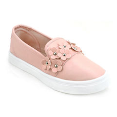Olivia Miller Lela Floral Girls Sneakers - Little Kids