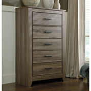 Signature Design by Ashley® Zelen 5-Drawer Chest