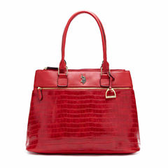 Us Polo Assn. Charles Triple Entry Tote Bag
