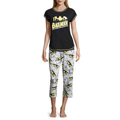 DC Comics Batman Capri Pajama Set