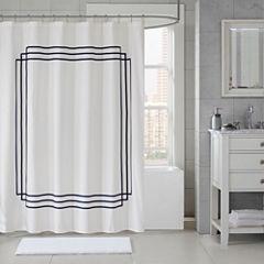 Madison Park Signature Coelho Applique Shower Curtain