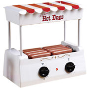 Nostalgia HDR565 Vintage Collection Hot Dog Rollerwith Bun Warmer