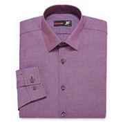 JF J. Ferrar® Long-Sleeve Stretch Cotton Dress Shirt