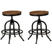 Signature Design by Ashley® Pinnadel Set of 2 Swivel Barstools