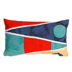 Liora Manne Visions Ii Flags Rectangular Outdoor Pillow