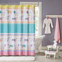 Wriggle Shower Curtain