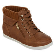 Arizona Hoops Lace-Up Casual Sneakers