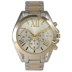 Olivia Pratt Mens Gold And Silver Two Tone Bracelet Watch 14331Gold & Silver Two Tone