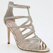 I. Miller Mariane Caged Glitter Dress Sandals