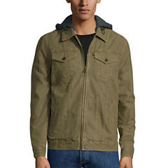 Levi's® Hooded Trucker Cotton Jacket