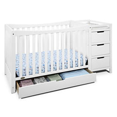 Graco® Remi 4-In-1 Convertible Crib and Changer