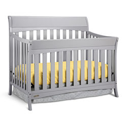 Graco® Rory 5-In-1 Convertible Crib - Pebble Gray