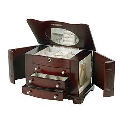 Mele & Co. Rita Wooden Jewelry Box