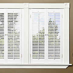 JCPenney Home™ Faux-Wood Traditional Shutters - 2 Panels