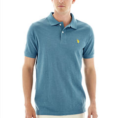 U.S. Polo Assn.® Heather Piqué Polo