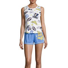DC Comics Wonder Woman Short Pajama Set