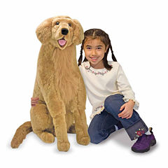 Melissa & Doug® Golden Retriever - Plush