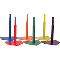 Champion Sports Deluxe 6 Color Batting Tee Set