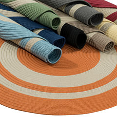 Colonial Mills Oceanside Braided Round Reversible Rugs