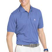 IZOD® Golf Textured Striped Polo