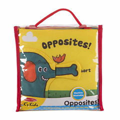 Melissa & Doug® Opposites Soft Activity Book