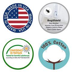 National Allergy All Cotton Allergen Barrier Mattress Protector