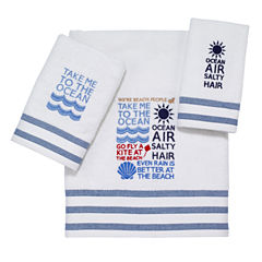 Avanti® Beach Words Bath Towels