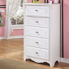 Signature Design by Ashley® Exquisite Five-Drawer Chest