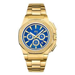 JBW Mens Gold Tone Bracelet Watch-J6329d