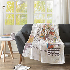 Intelligent Design Choose Adventure Quilted Quilted Throw