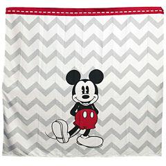 Disney Chevron Mickey Mouse Shower Curtain