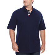 Lee® Short-Sleeve Flag Polo - Big & Tall