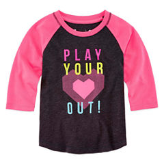 Xersion Graphic T-Shirt-Toddler Girls
