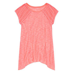 Arizona Crochet Tunic Top - Girls' 7-16 and Plus