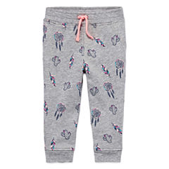 Arizona Azg Print Jogger Pull-On Pants Girls