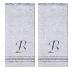 Saturday Knight 2-Pack B Monogram Hand Towel