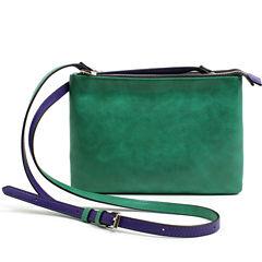 Mondani Brea Double Zip Crossbody Bag