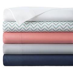 Home Expressions™ 200tc Cotton-Rich Twin XL Sheet Set