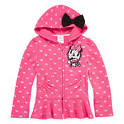 Disney Collection Minnie Fleece Jacket - Girls