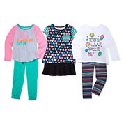 Okie Dokie® Tees or Pants - Toddler Girls 2t-5t