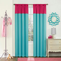 Eclipse Luna Teen Rod-Pocket Curtain Panel