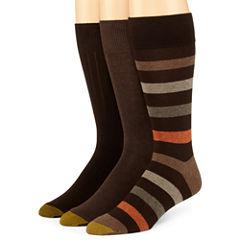 Gold Toe® 3-pk. Dress Stripe Socks